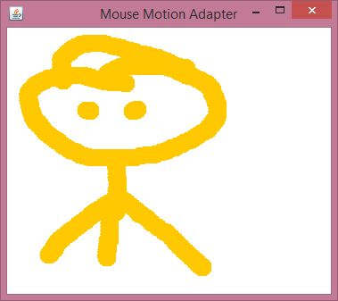 java awt mousemotionadapter example 1