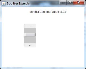 java awt scrollbar example 2