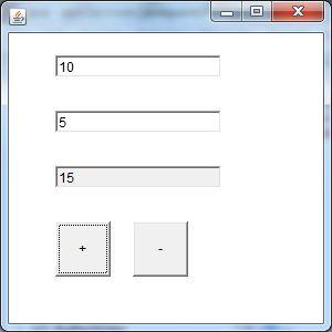 java awt textfield example 2