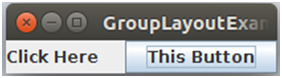 Java Grouplayout 1