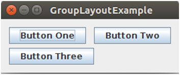 Java Grouplayout 2