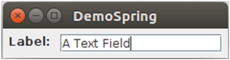 Java Springlayout 1