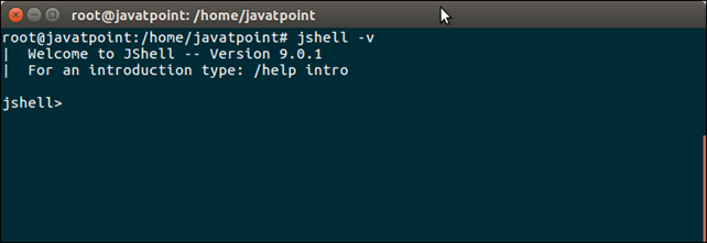 Java 9 Shell Tool 1