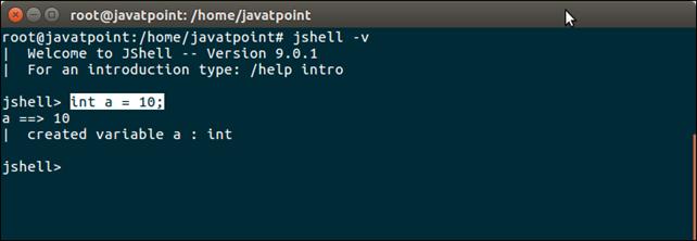 Java 9 Shell Tool 3