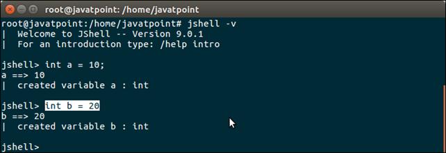 Java 9 Shell Tool 4