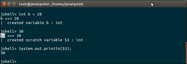 Java 9 Shell Tool 5