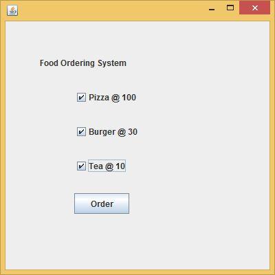 Java JCheckBox - javatpoint