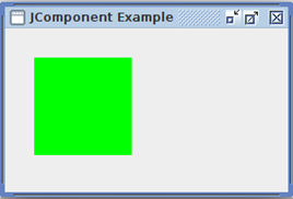 Java Jcomponent