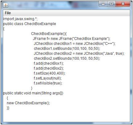Java Jfilechooser 3