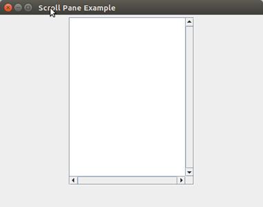 Java JScrollpane