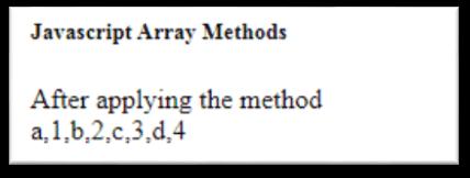 JavaScript Array flatMap() Method