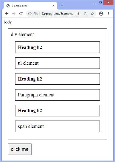 jQuery next() method