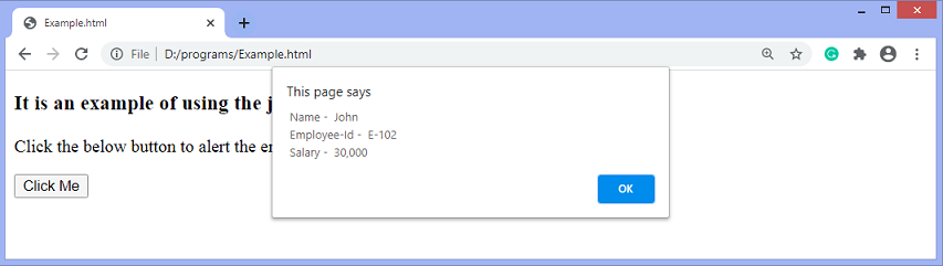 jQuery parseXML() method
