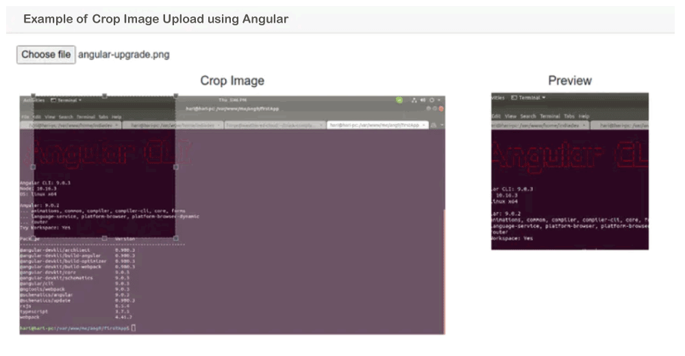 Angular Image Upload with Crop, Zoom, Scale