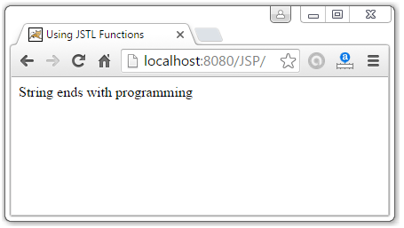 JSTL Function Tags3