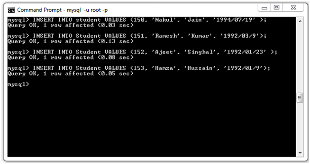 JSTL SQL Tag19