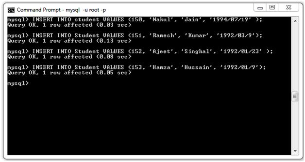 JSTL SQL Tag24