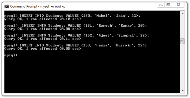 JSTL SQL Tag9