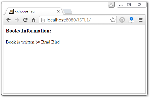 JSTL XML Tags3