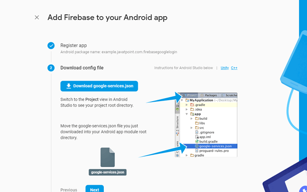 Android Firebase Authentication - Google Login