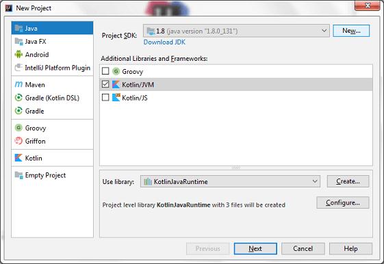 Kotlin First Program IDE 1