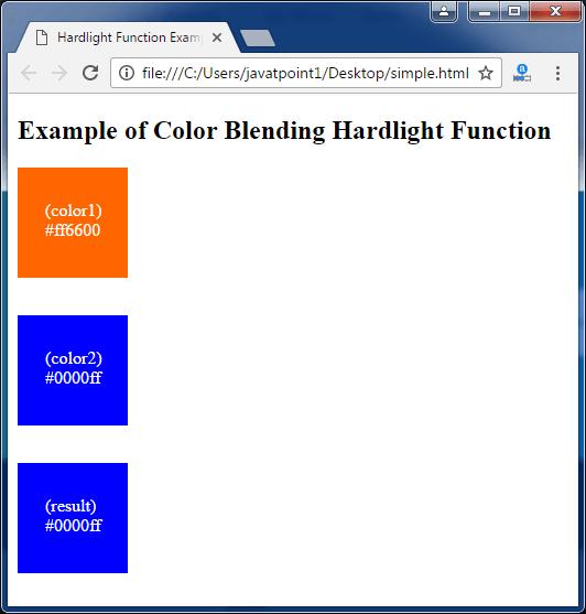 Less Color blending hardlight function3