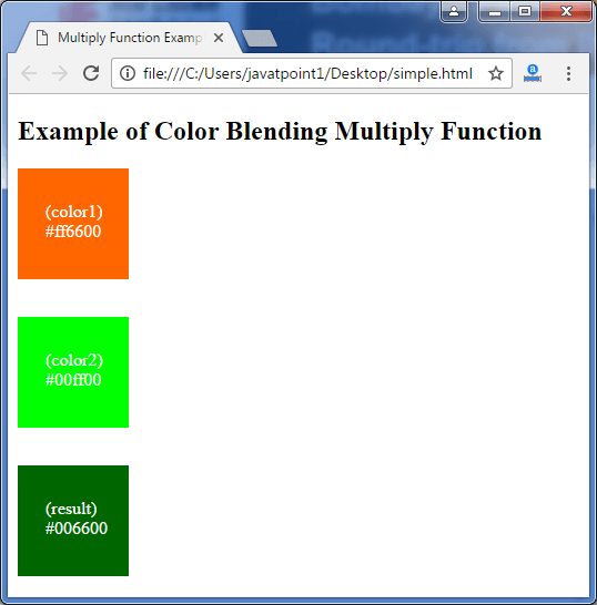 Less Color blending multiply function3