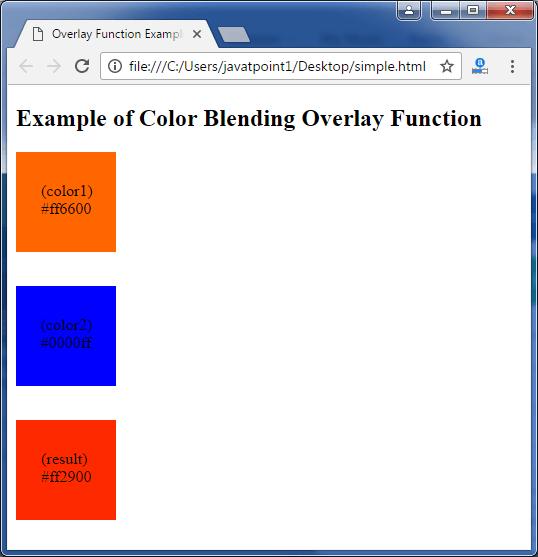 Less Color blending softlight function3