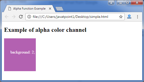 Less alpa function3