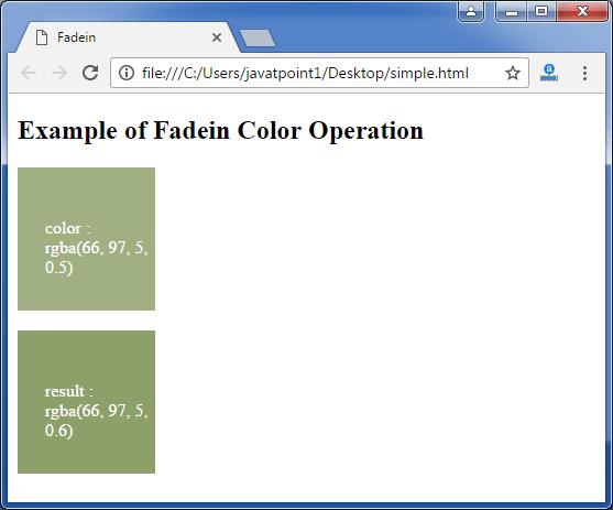 Less fadien function3