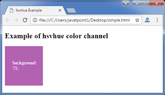 Less hsvhue function3