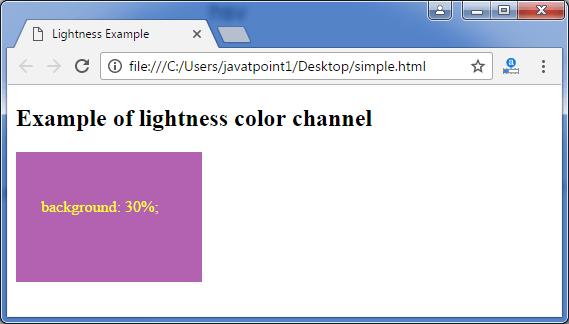Less lightness function3