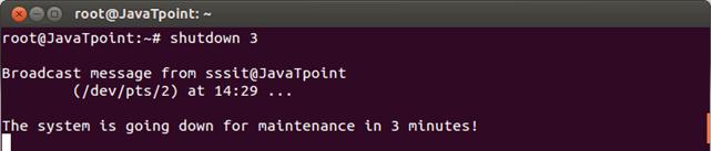Linux Shutdown1