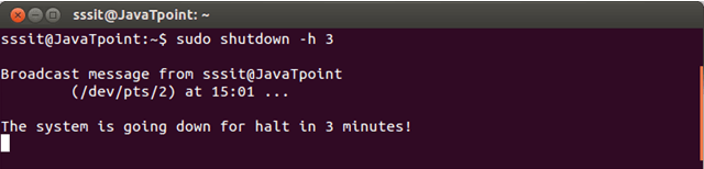 Linux Shutdown3
