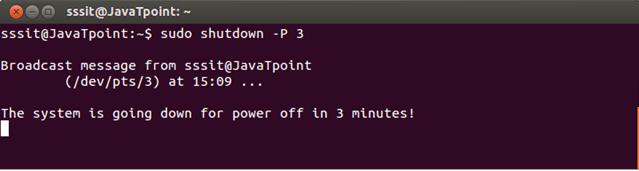 Linux Shutdown4