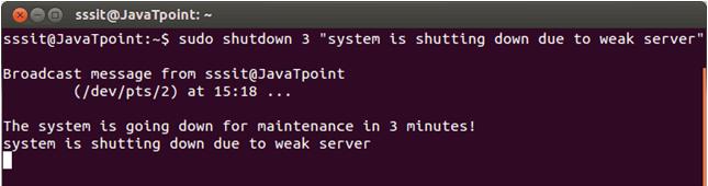 Linux Shutdown5