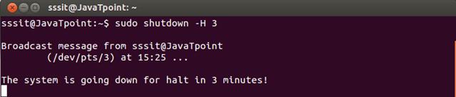 Linux Shutdown6