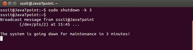 Linux Shutdown7