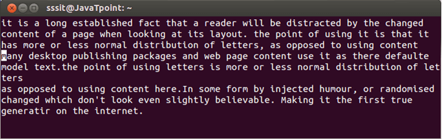 Linux Vi Text buffers2
