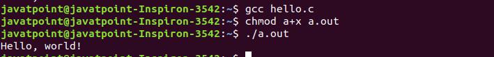 GCC Linux