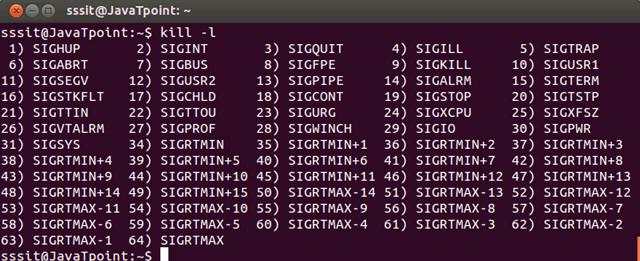 Linux kill1