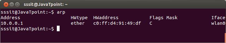 Linux arp1