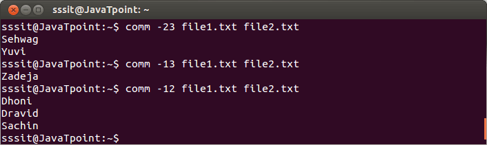 Linux Comm Filter2