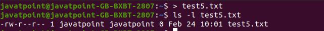 Linux Create File