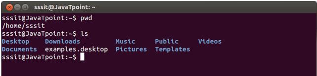Linux ls command