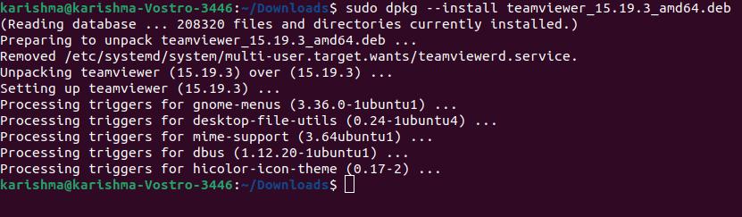 Linux dpkg command