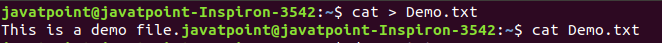 Linux Edit file