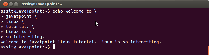 Linux Escaping Special Characters2