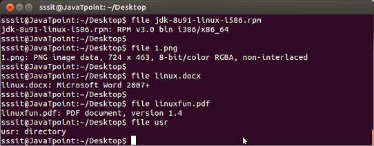 Linux File Command