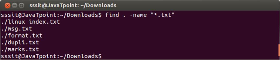 Linux Find1
